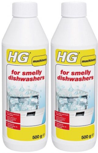 HG For Smelly Dishwashers 500ml approx 12 Treatments Twin Pack